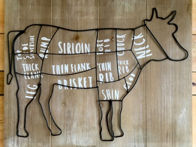 Cow Parts Art