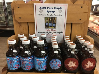 AM Pure Maple Syrup