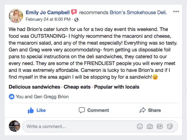 FB Review BRIONS