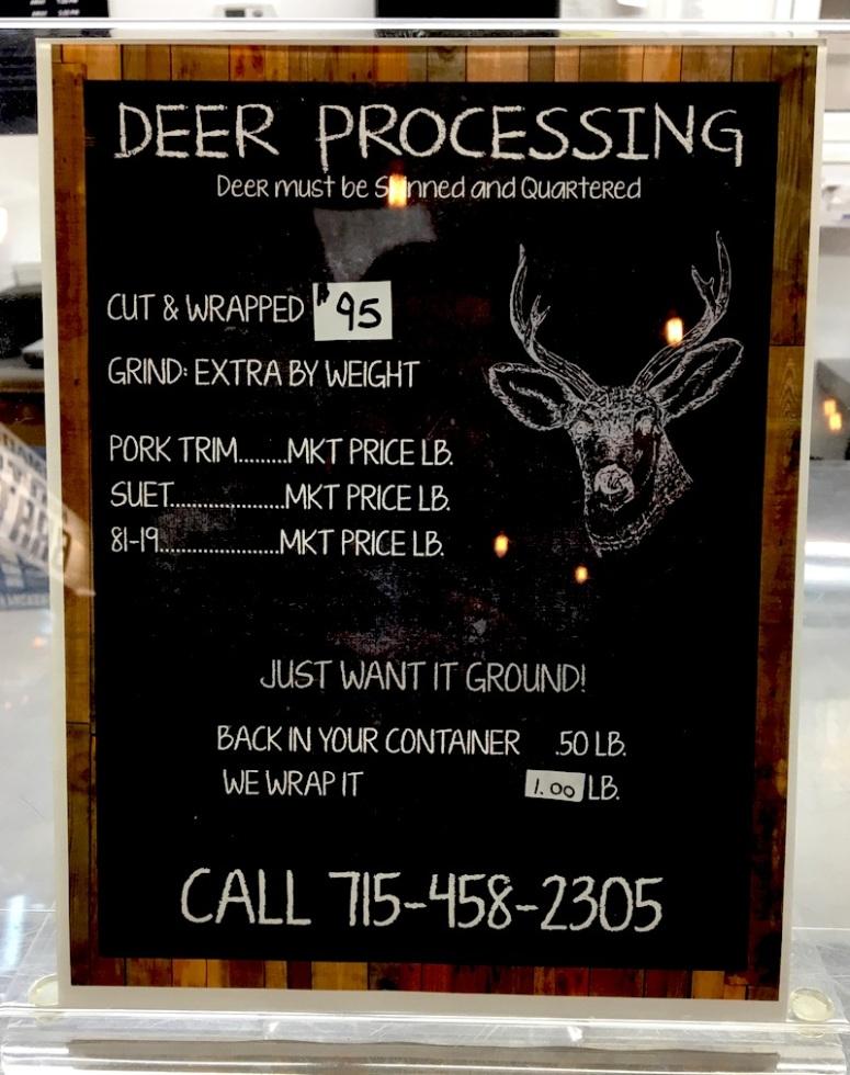 Deer Processing 2019