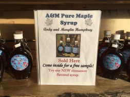 08 Maple Syrup Sign