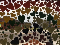 Hearts Window CU