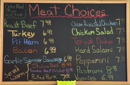 Meat Choices Updated
